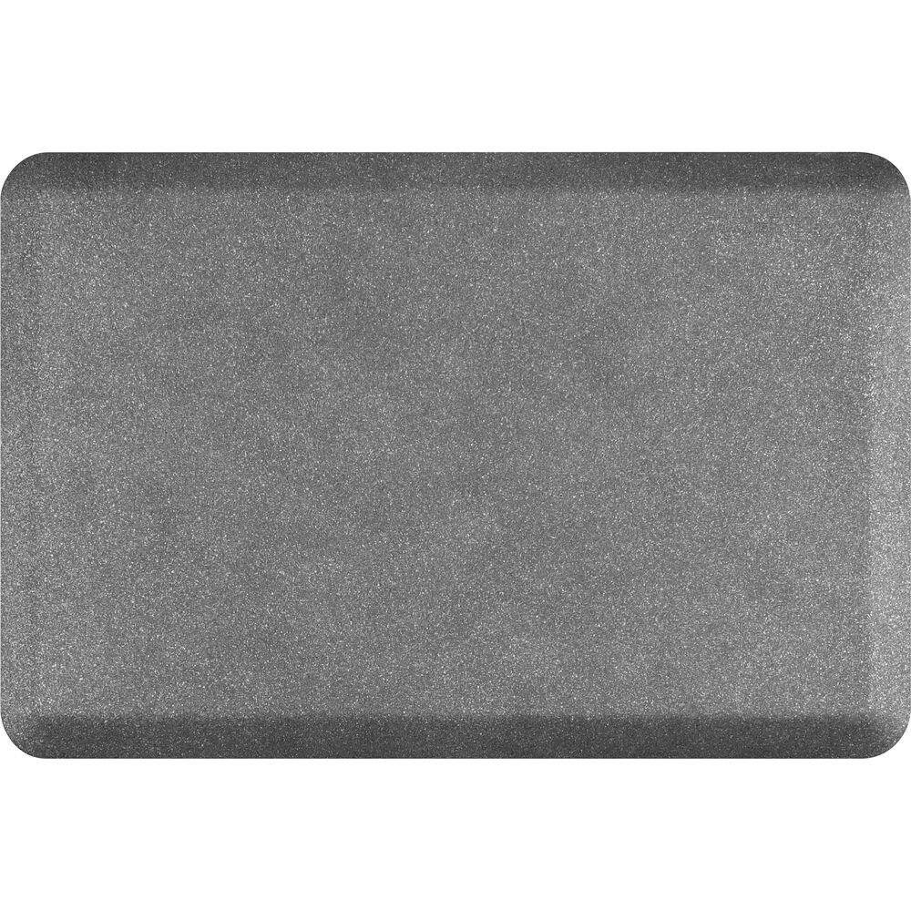 Spengler Original Smooth Kitchen Mat Color: Granite Steel, Mat Size: Rectangle 2' x 3'