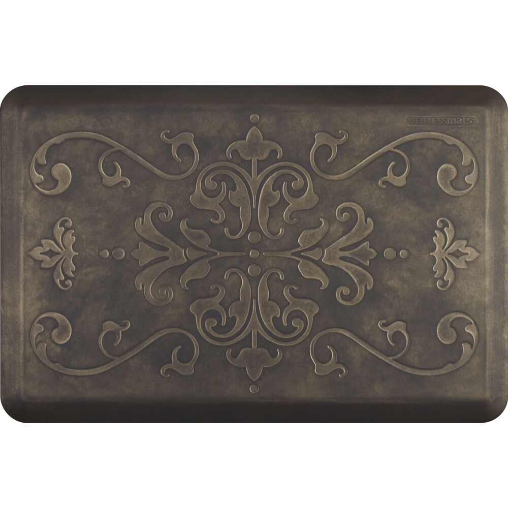 Noreen Kitchen Mat Color: Sand Dollar, Mat Size: Rectangle 2' x 3'