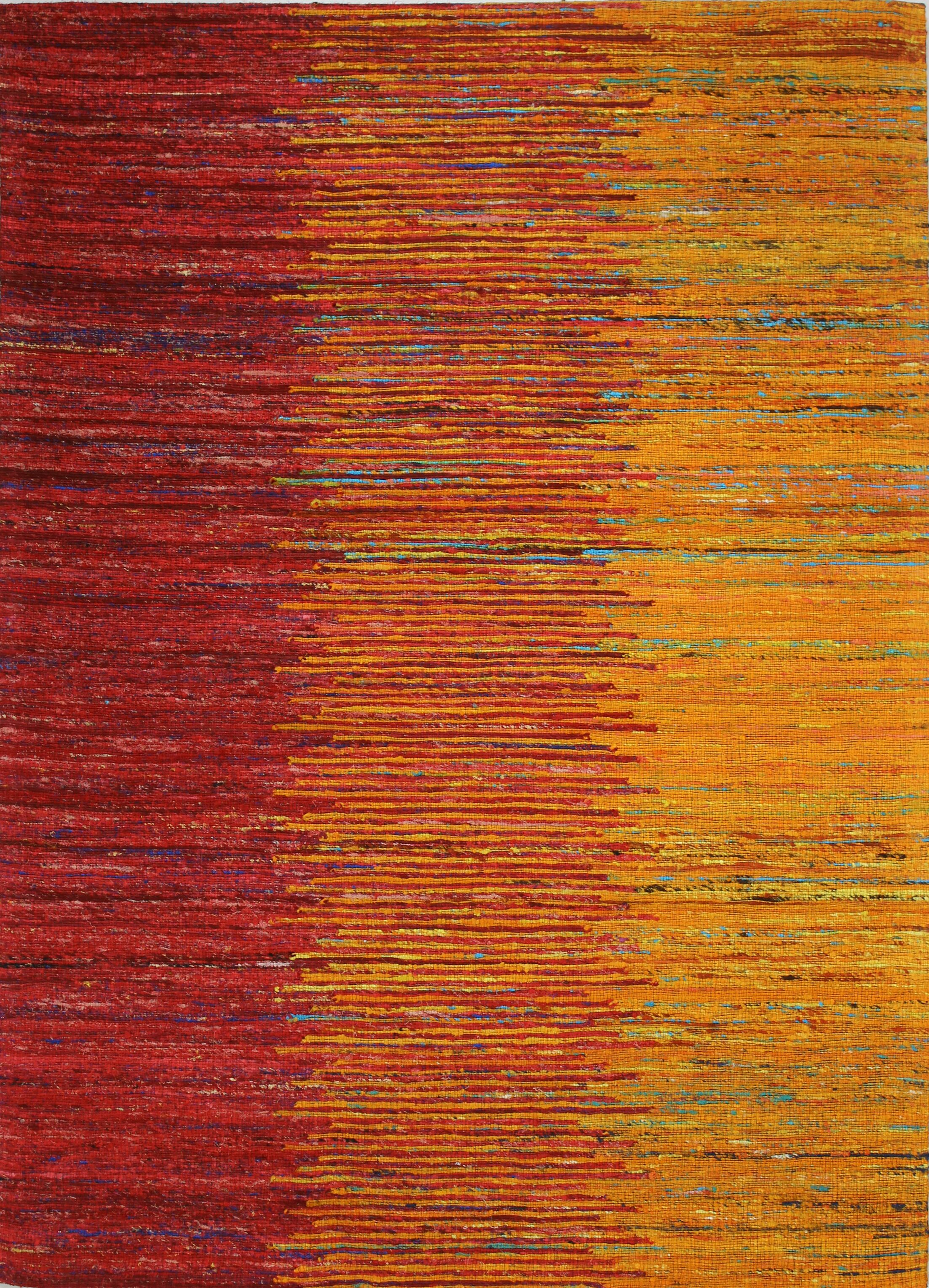 Broughshane Hand Woven Sunset Area Rug Rug Size: Rectangle 5' x 7'