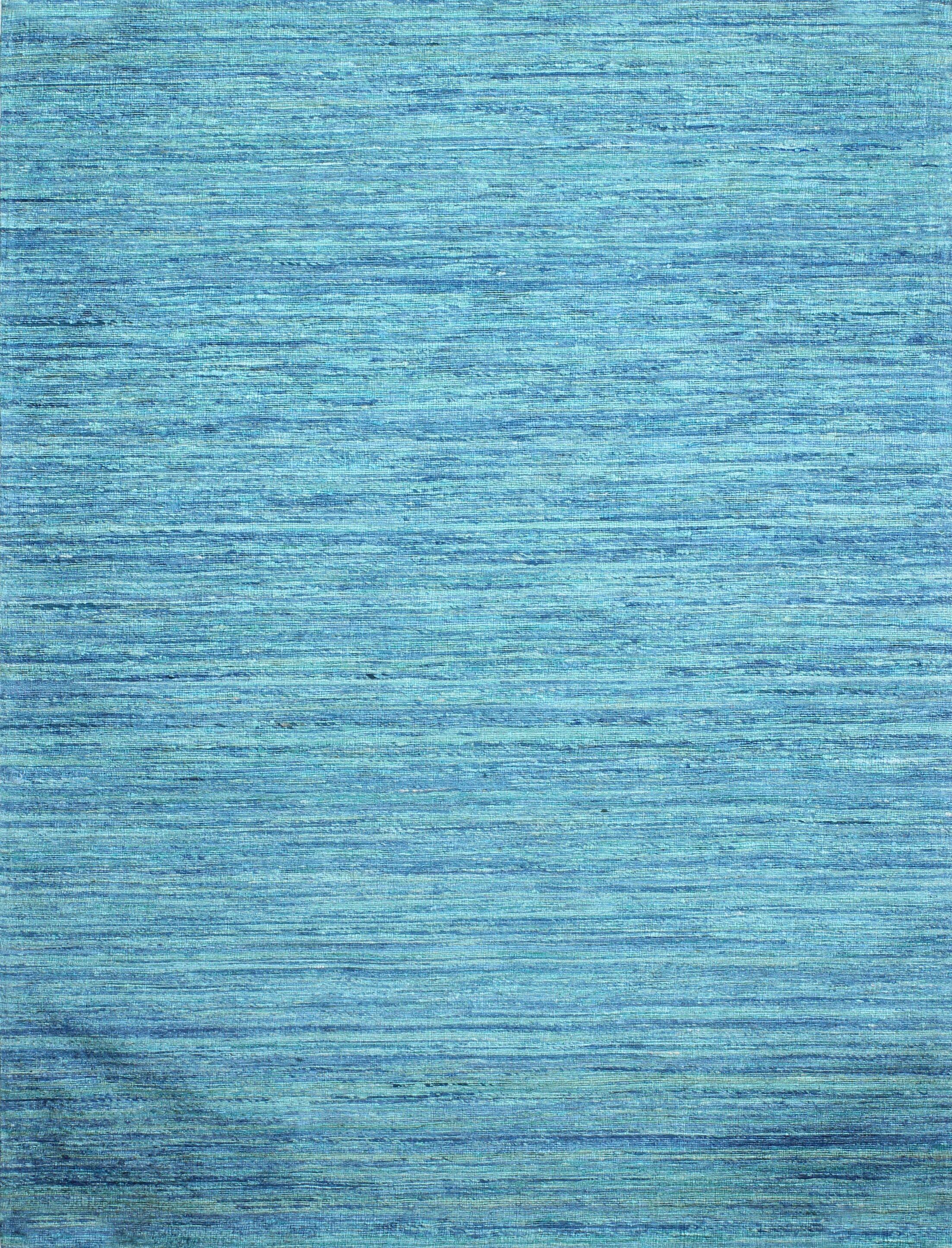Fagan Hand Woven Blue Area Rug Rug Size: Rectangle 5' x 7'