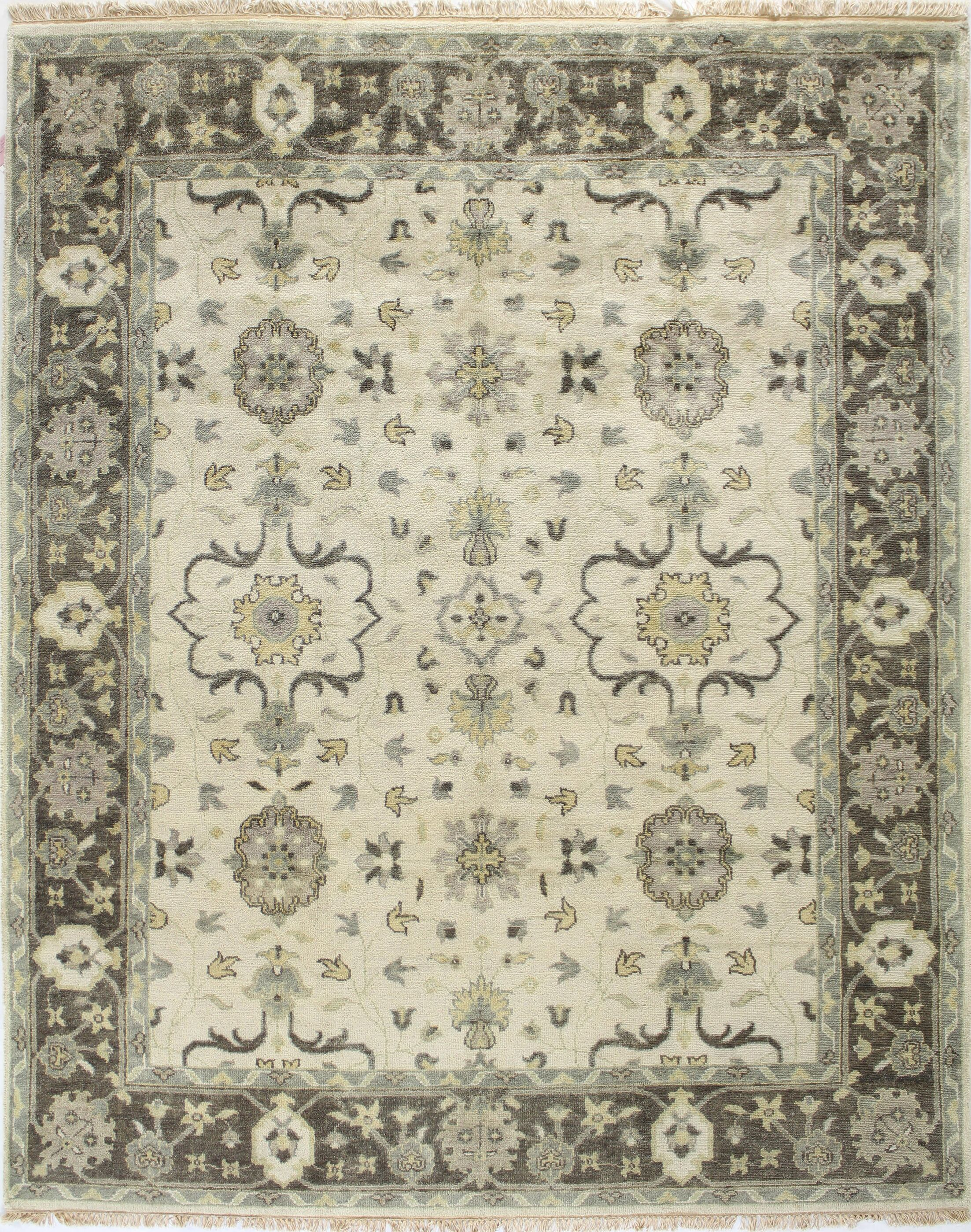 Wanstead Ivory Area Rug Rug Size: Rectangle 7'8