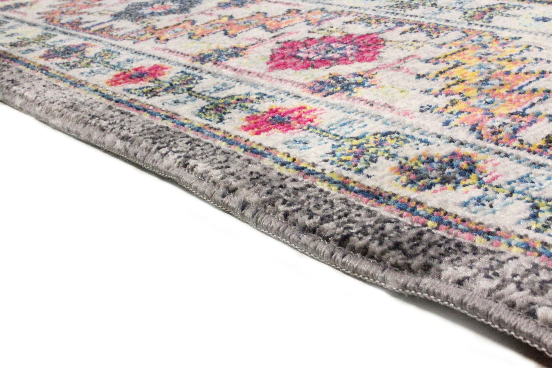 Fidela Gray Area Rug Rug Size: Rectangle 5' x 7'6