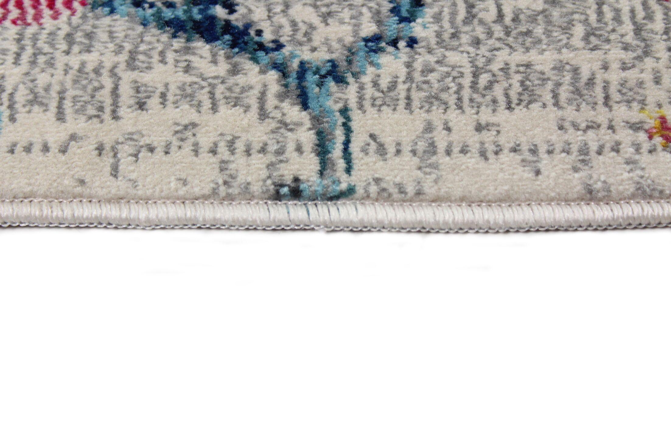 Fidela Rectangle Ivory Area Rug Size: Rectangle 7'6