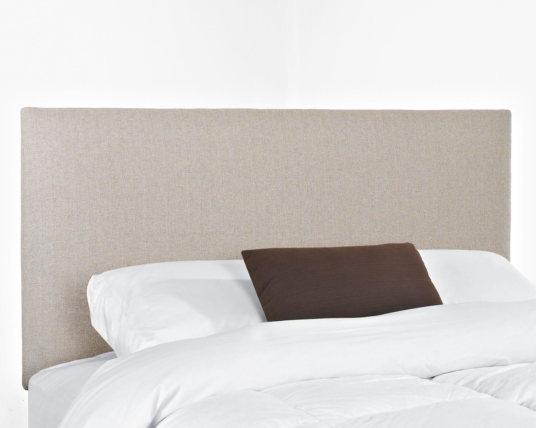 Killarney Upholstered Panel Headboard Size: King