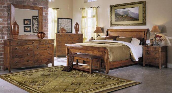 Urban Craftsmen Sleigh Configurable Bedroom Set