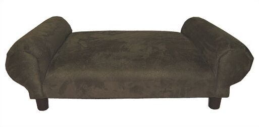 Krystal BioMedic Premier Dog Day Bed Size: Extra Large, Fabric: Microfiber - Navy