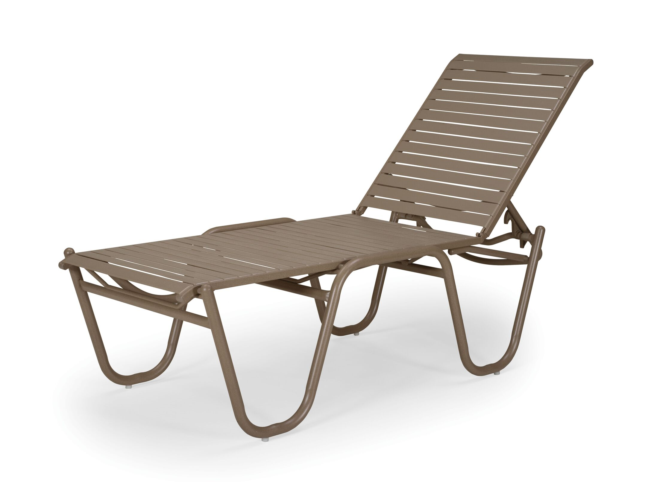 Reliance Strap High Reclining Chaise Lounge (Set of 4)