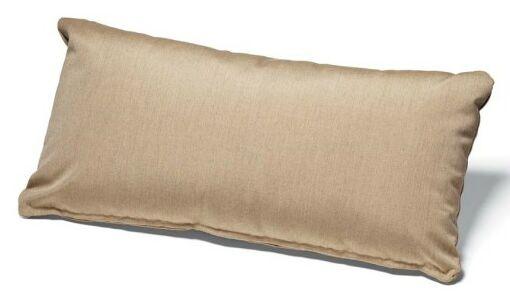 Lumbar Pillow Color: Champagne