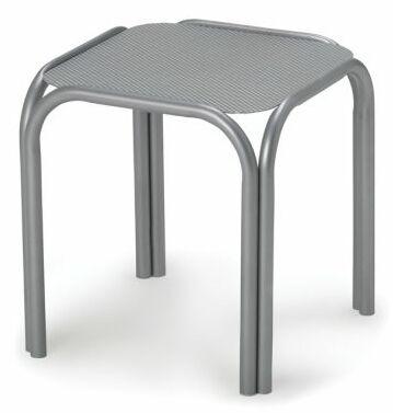 Embossed Aluminum Tables Aluminum Side Table (Set of 4) Finish: Textured Kona