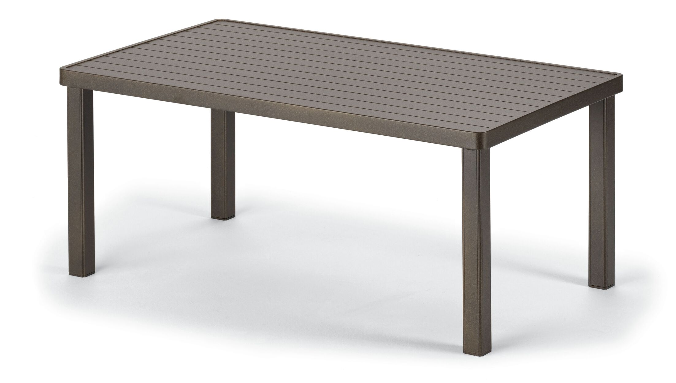 Aluminum Coffee Table Finish: Textured Graphite