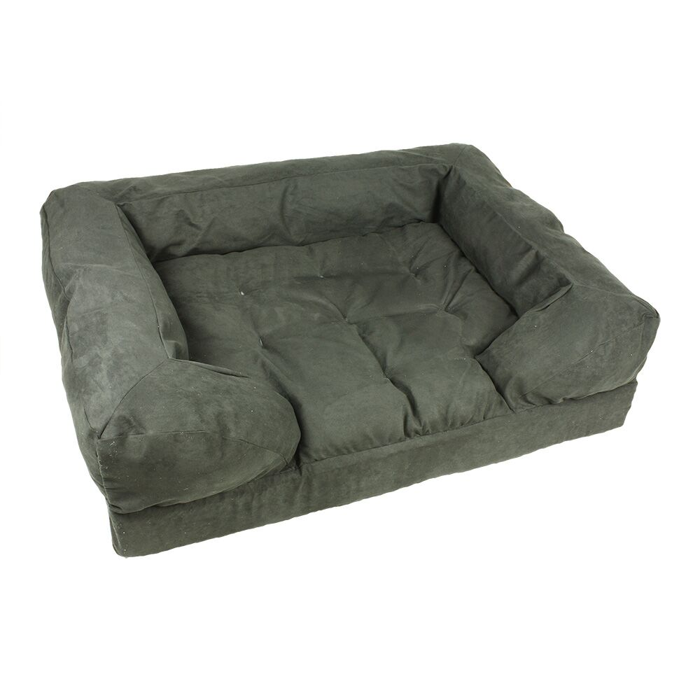 Forgiveness Dog Sofa Color: Olive / Coffee, Size: Large (40