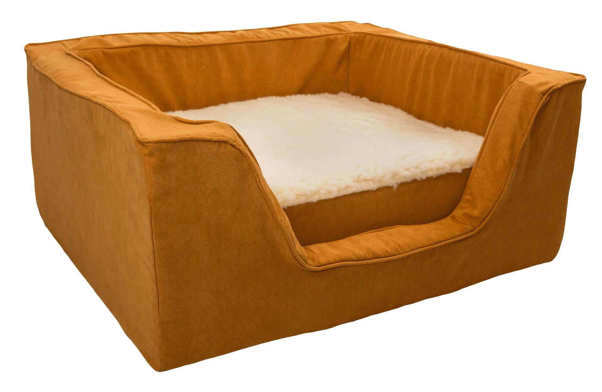 Luxury Solids Micro Suede Bolster with Memory Foam Size: Medium (23