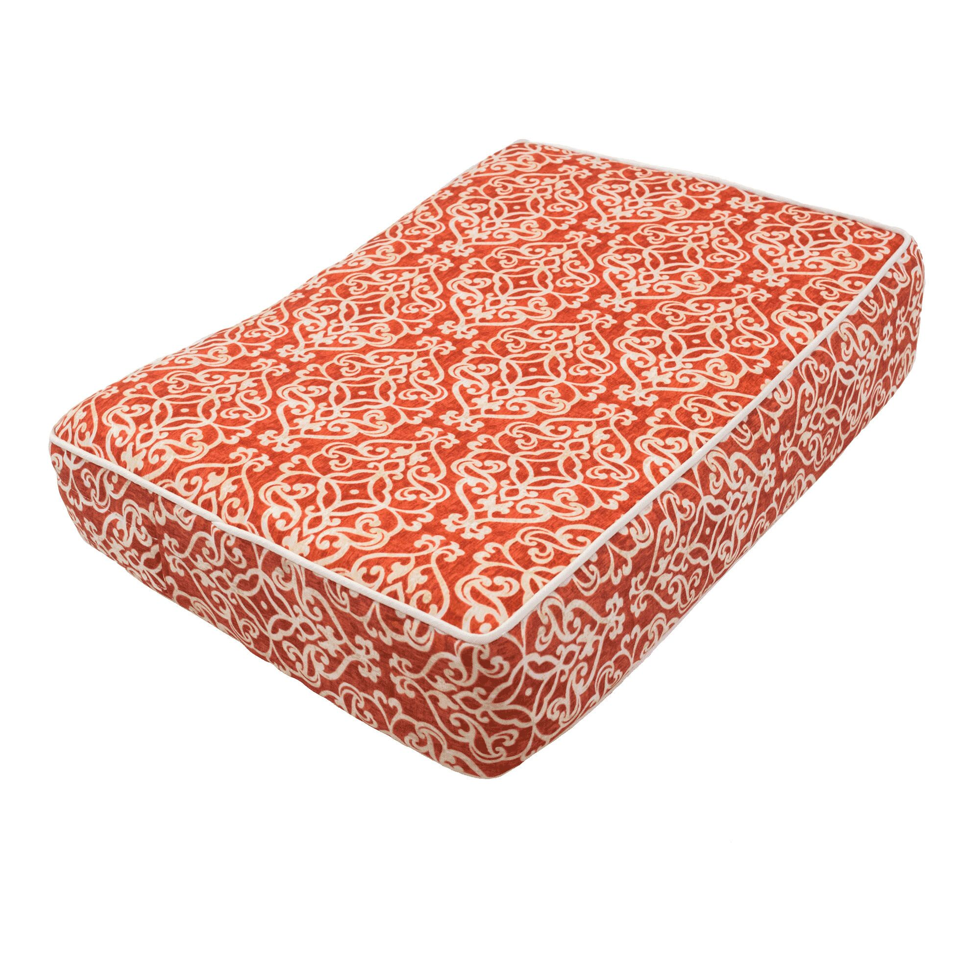 Wag Outlast® Heating and Cooling Dog Bed Color: Gondola Salmon, Size: Medium (26