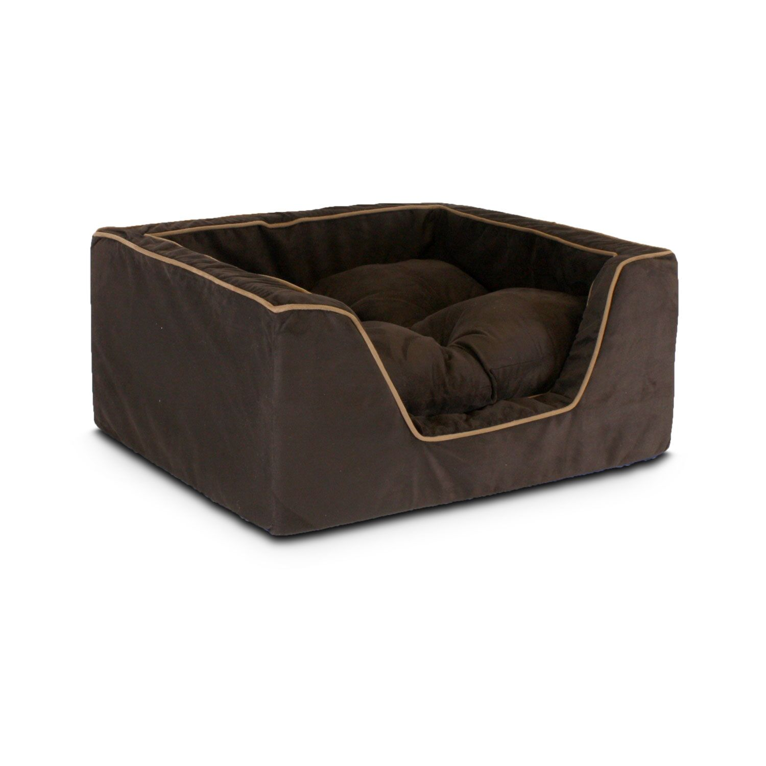 Luxury Square Nest Dog Bed Size: X-Large (31.5