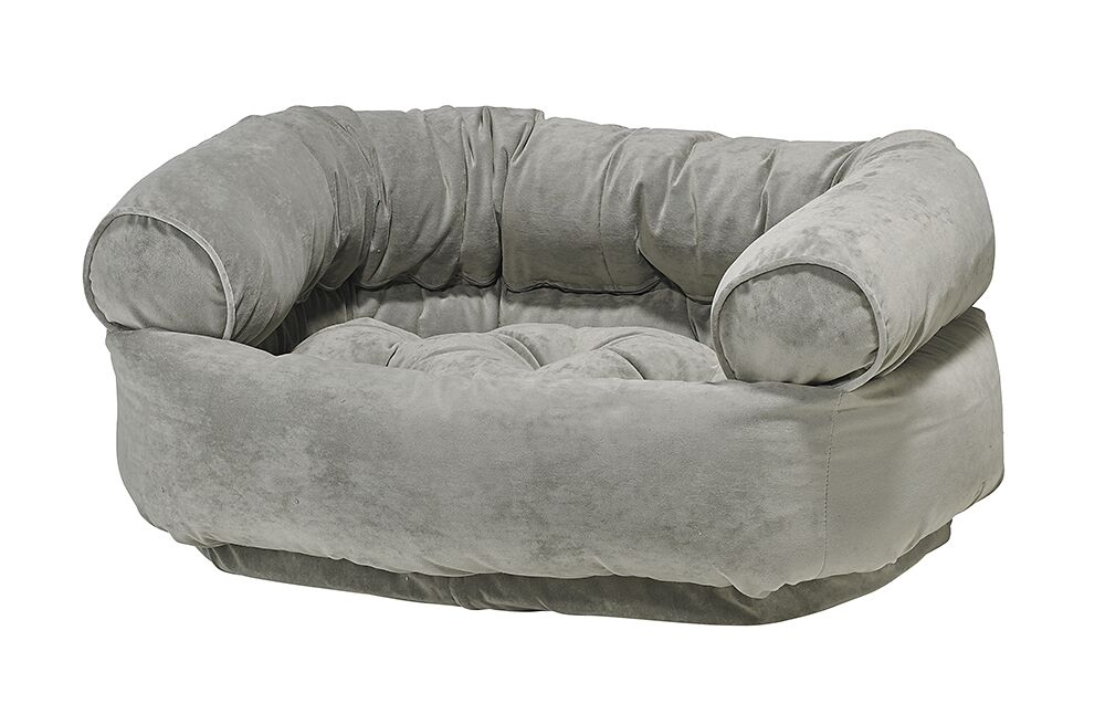 Double-Donut Dog Bed Size: Medium - 35