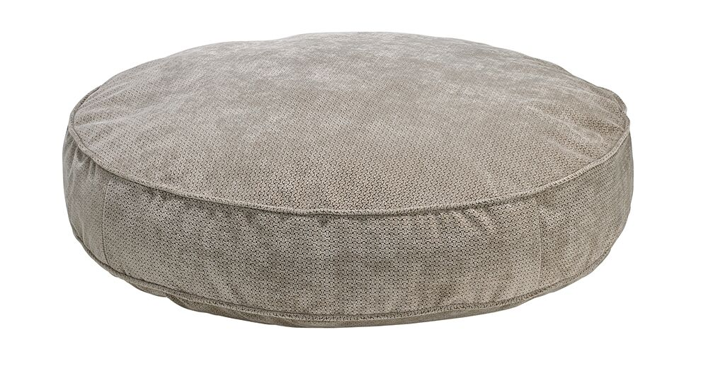 Round Dog Bed Color: Cappuccino, Size: X-Large - 52