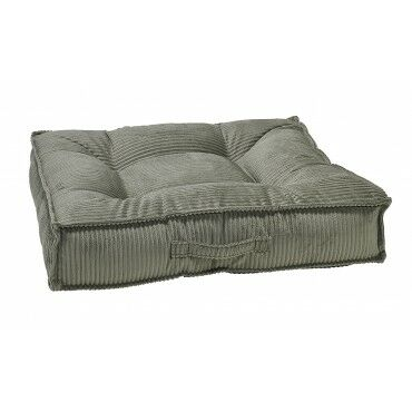 Piazza Dog Bed Color: Silver