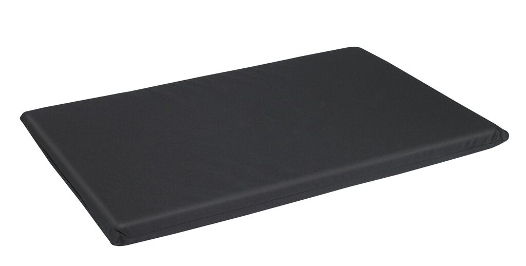 All Weather Crate Dog Mat Color: Black, Size: X-Large (48