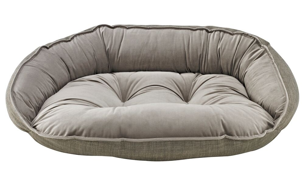 Diam Crescent Bolster Dog Bed Color: Driftwood, Size: X-Large (32