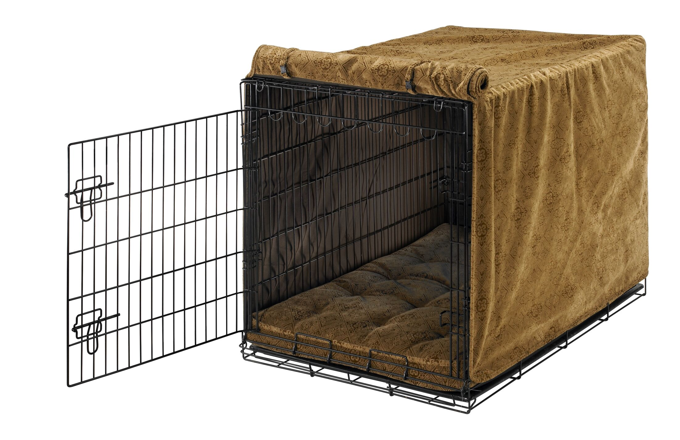 Luxury Dog Crate Cover Size: Medium (21