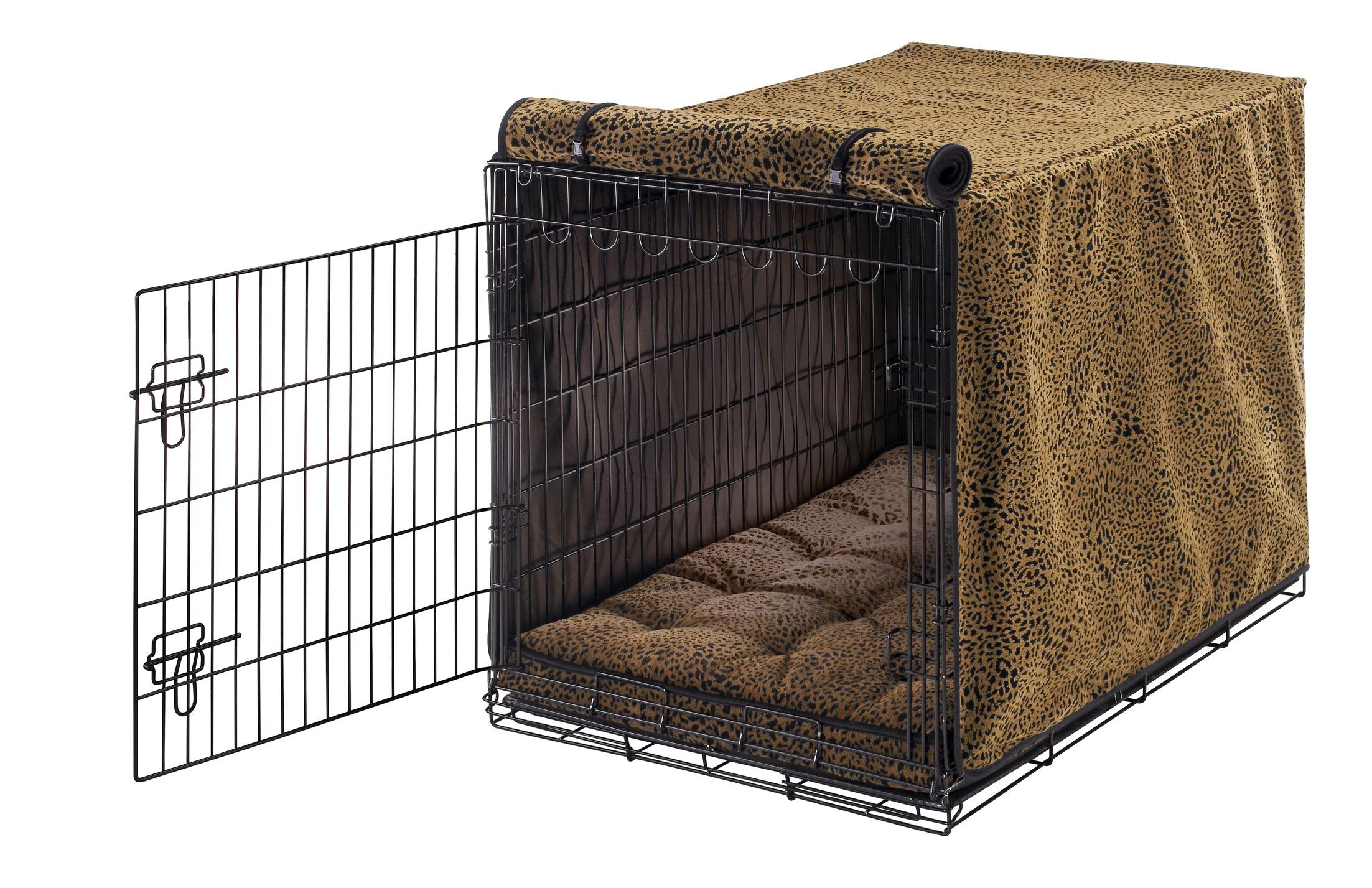Luxury Dog Crate Cover Size: Small (19