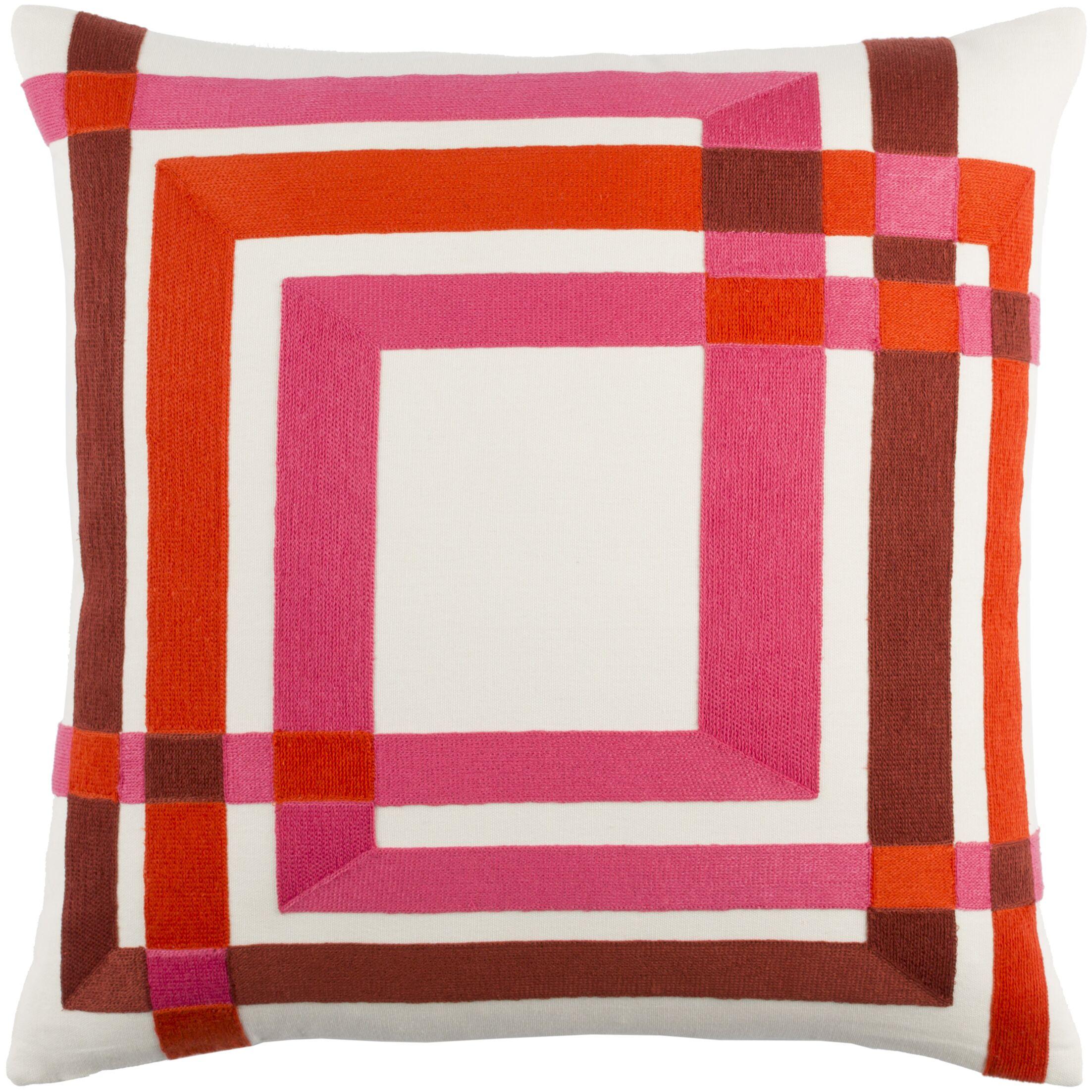 Kismet Color Form Throw Pillow Size: 22