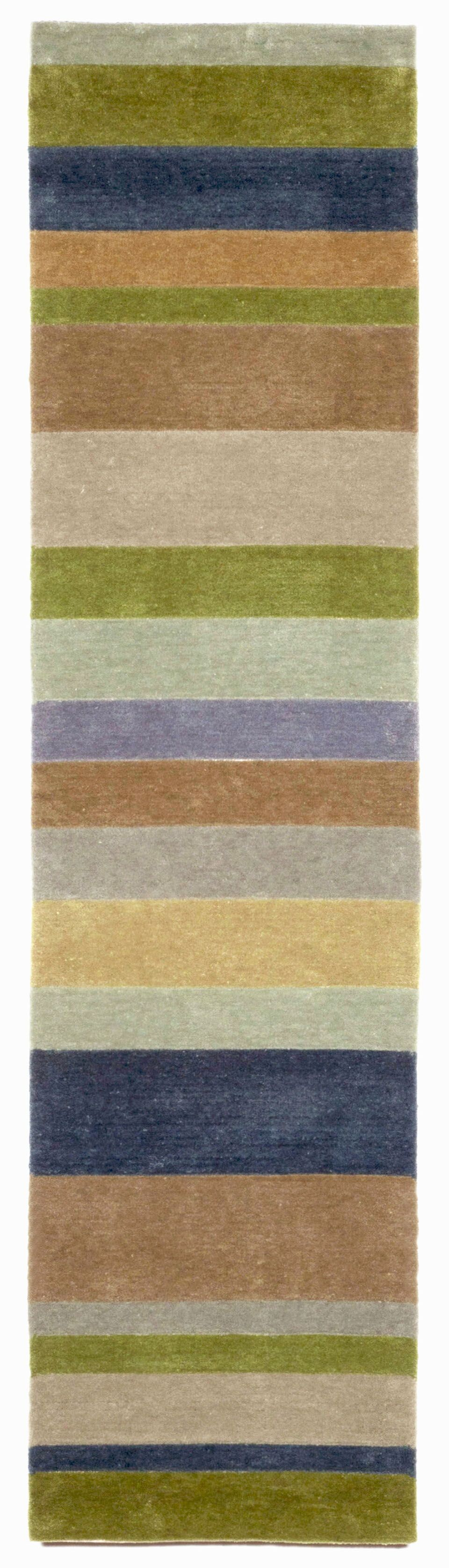 Lilly Stripes Area Rug Rug Size: Runner 2' x 8'