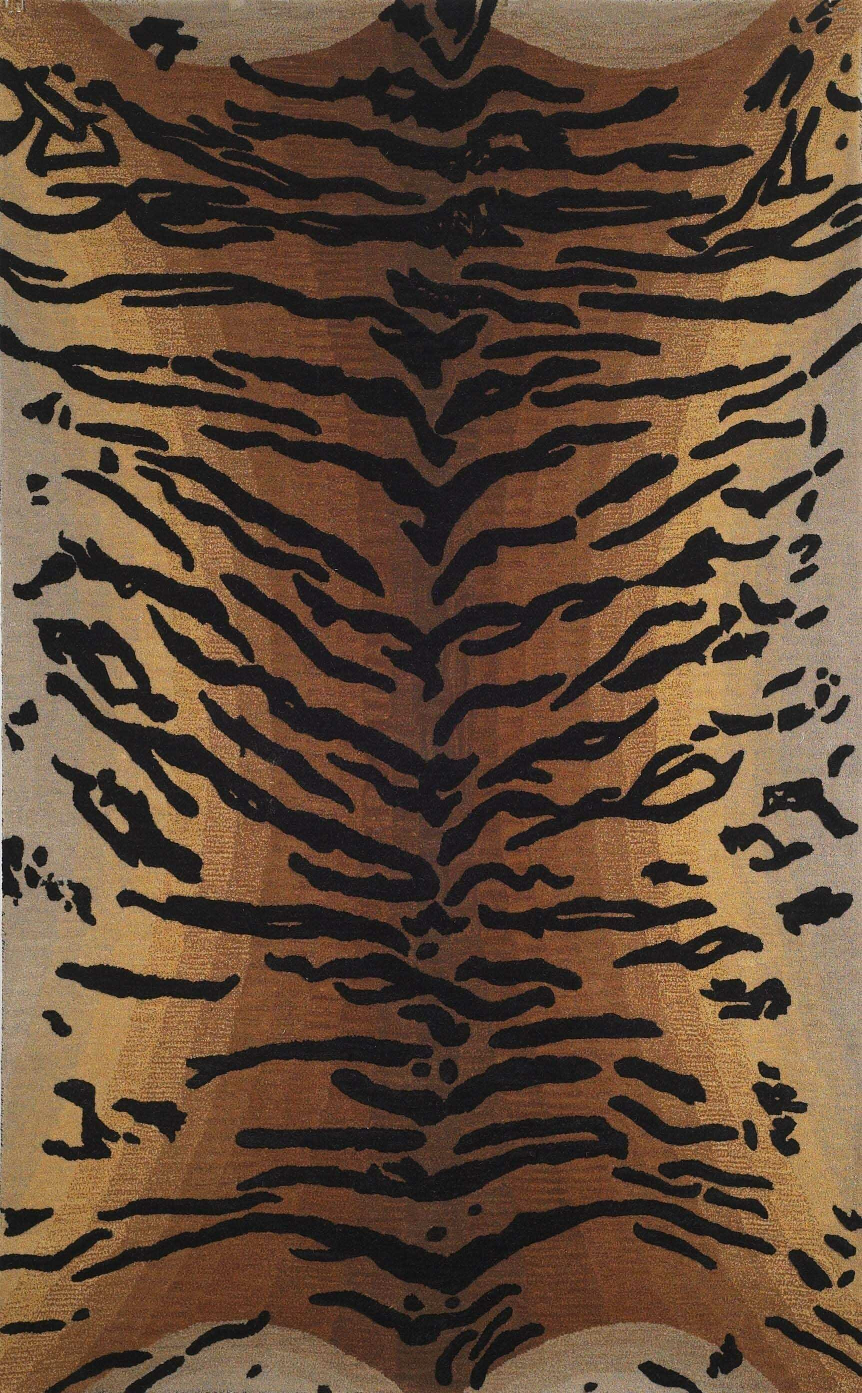 Bowdens Tiger Rug Rug Size: Rectangle 5' x 8'