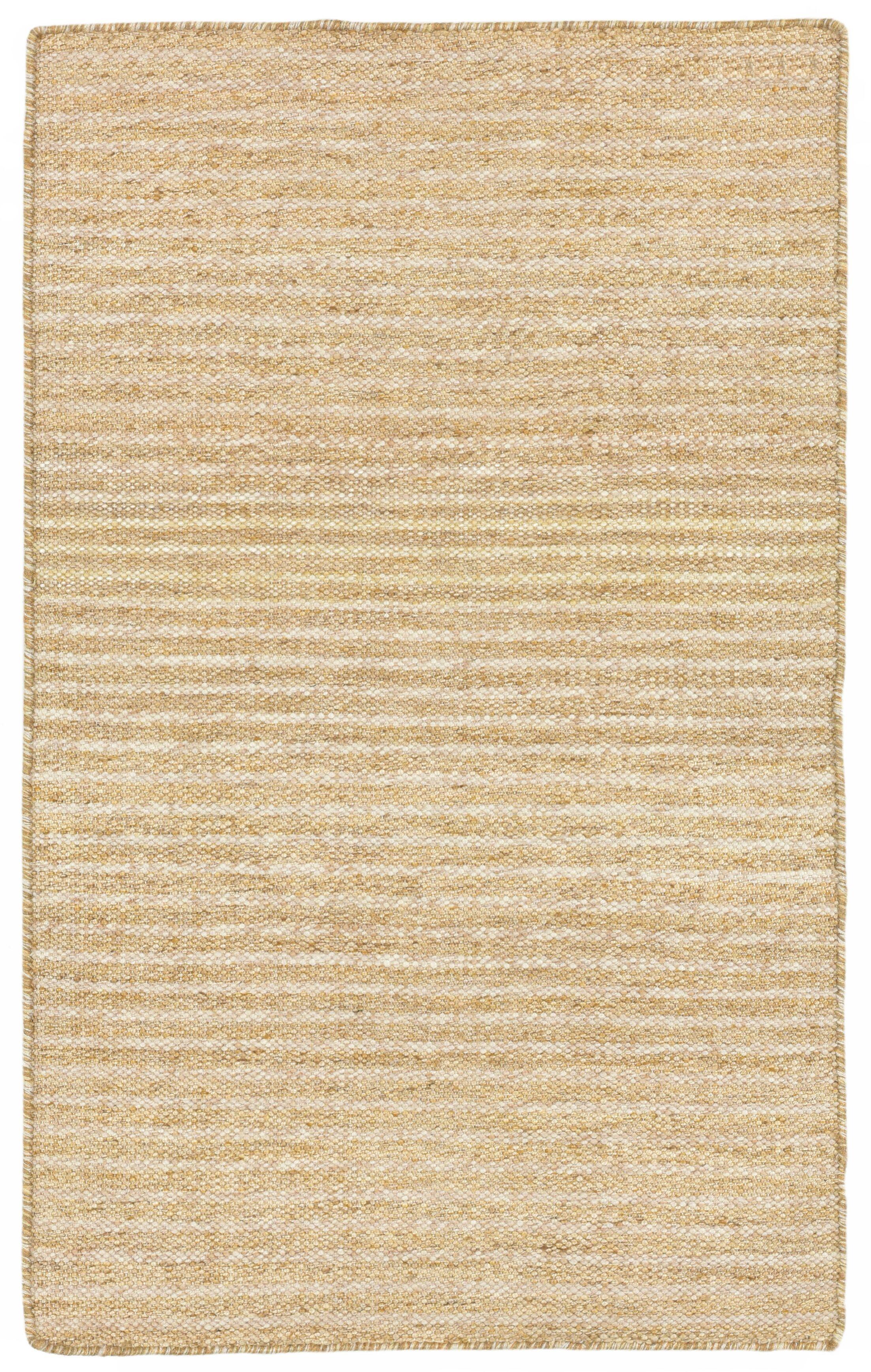 Blueridge Hand-Woven Neutral Indoor/Outdoor Area Rug Rug Size: 7'6
