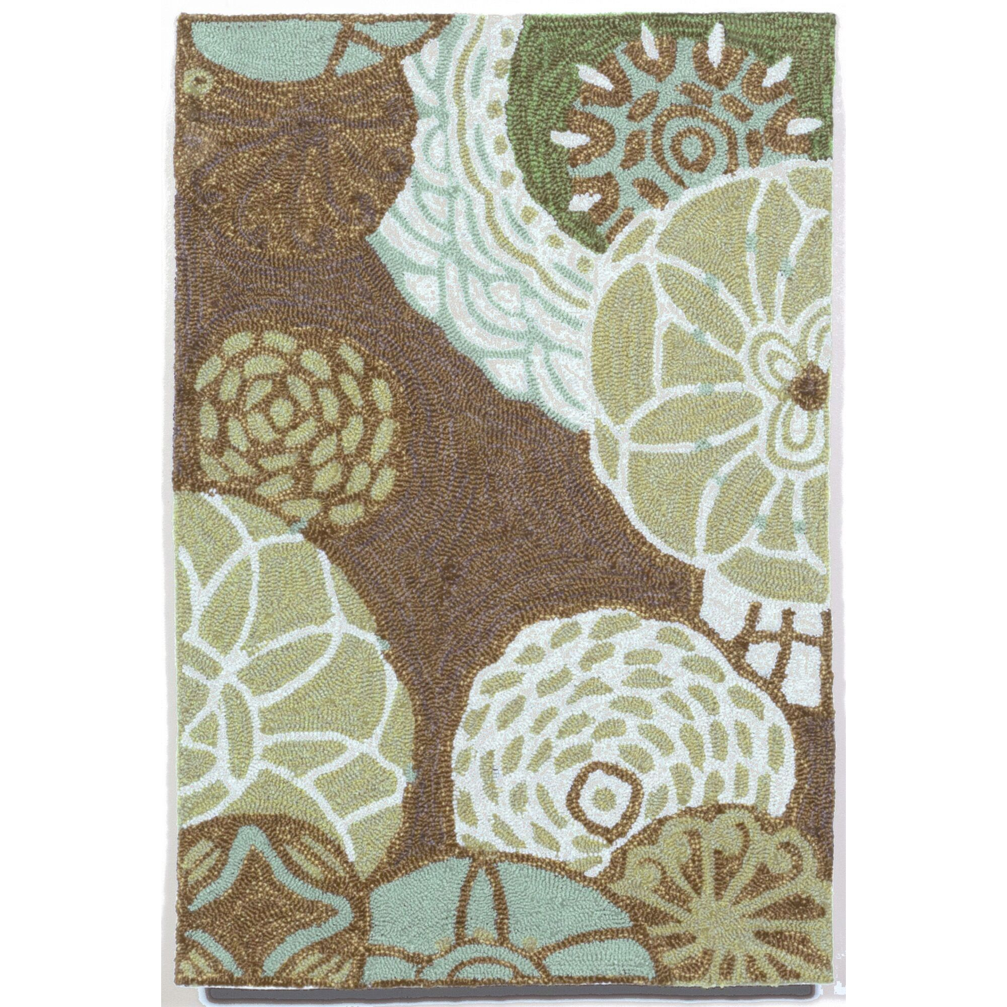 Derby Driftwood Outdoor Area Rug Rug Size: Rectangle 5' x 7'6