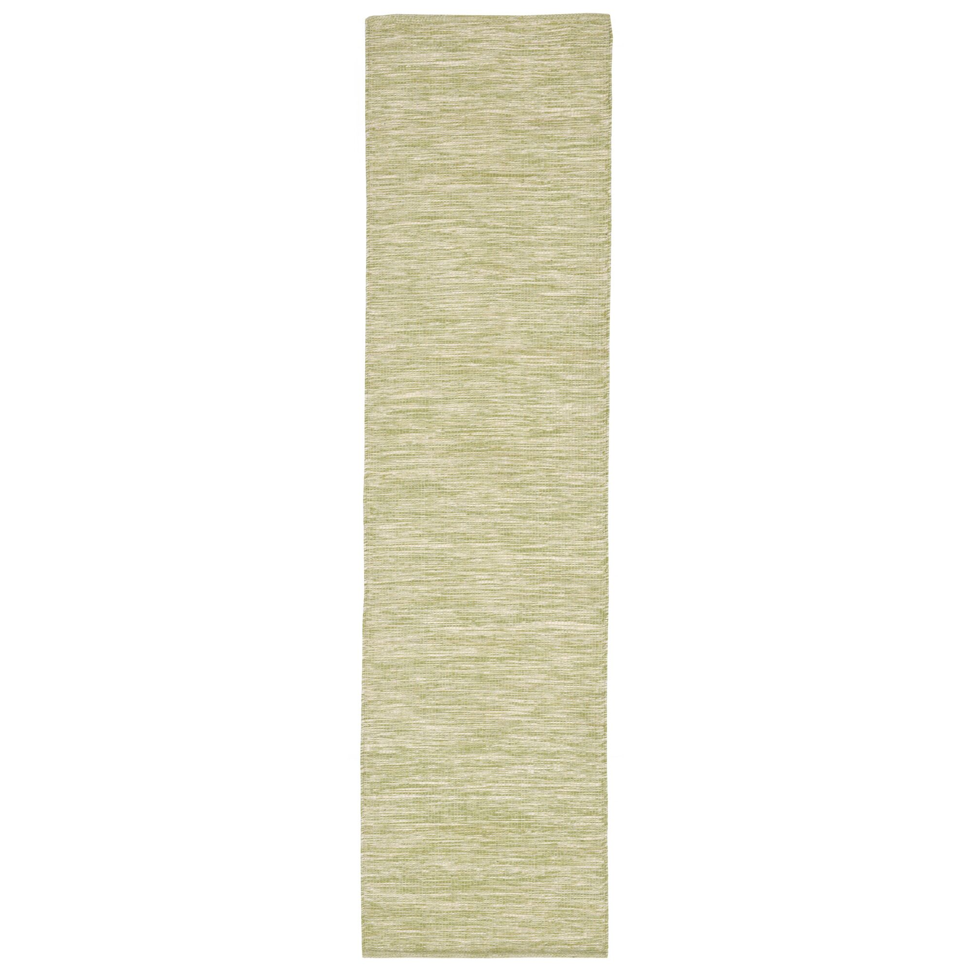 Boerner Hand-Woven Green Indoor/Outdoor Area Rug Rug Size: Runner 2' x 8'