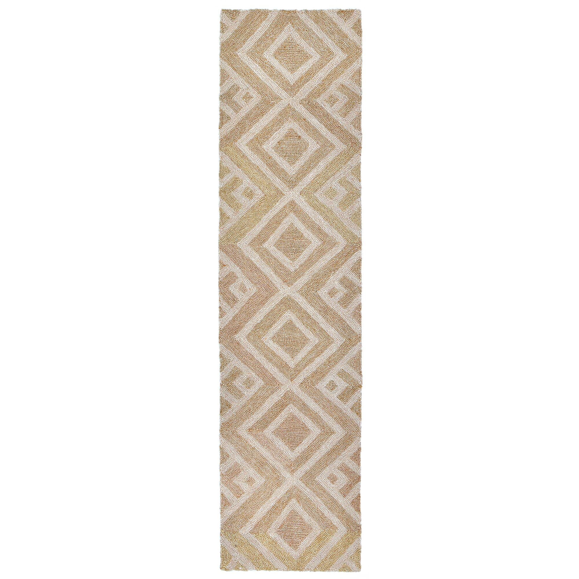 Chamness Hand-Tufted Neutral Indoor/Outdoor Area Rug Rug Size: 8'3