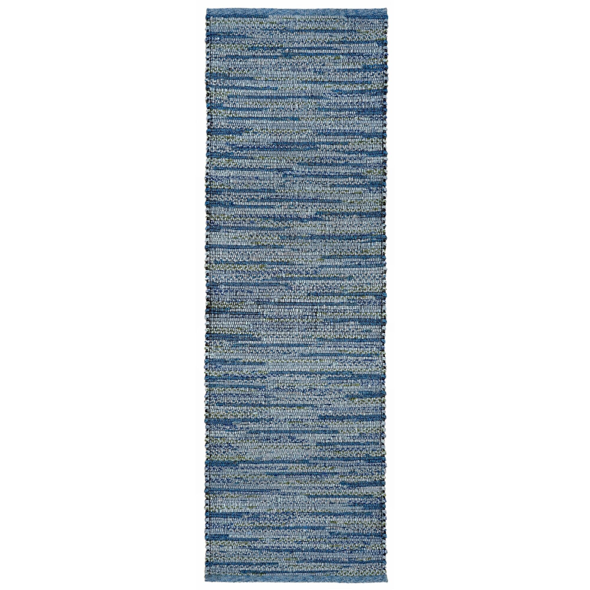 Sardis Hand-Woven Blue Indoor/Outdoor Area Rug Rug Size: 5' x 7'6