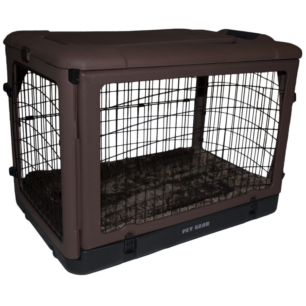 Deluxe Pet Crate Size: Small (21