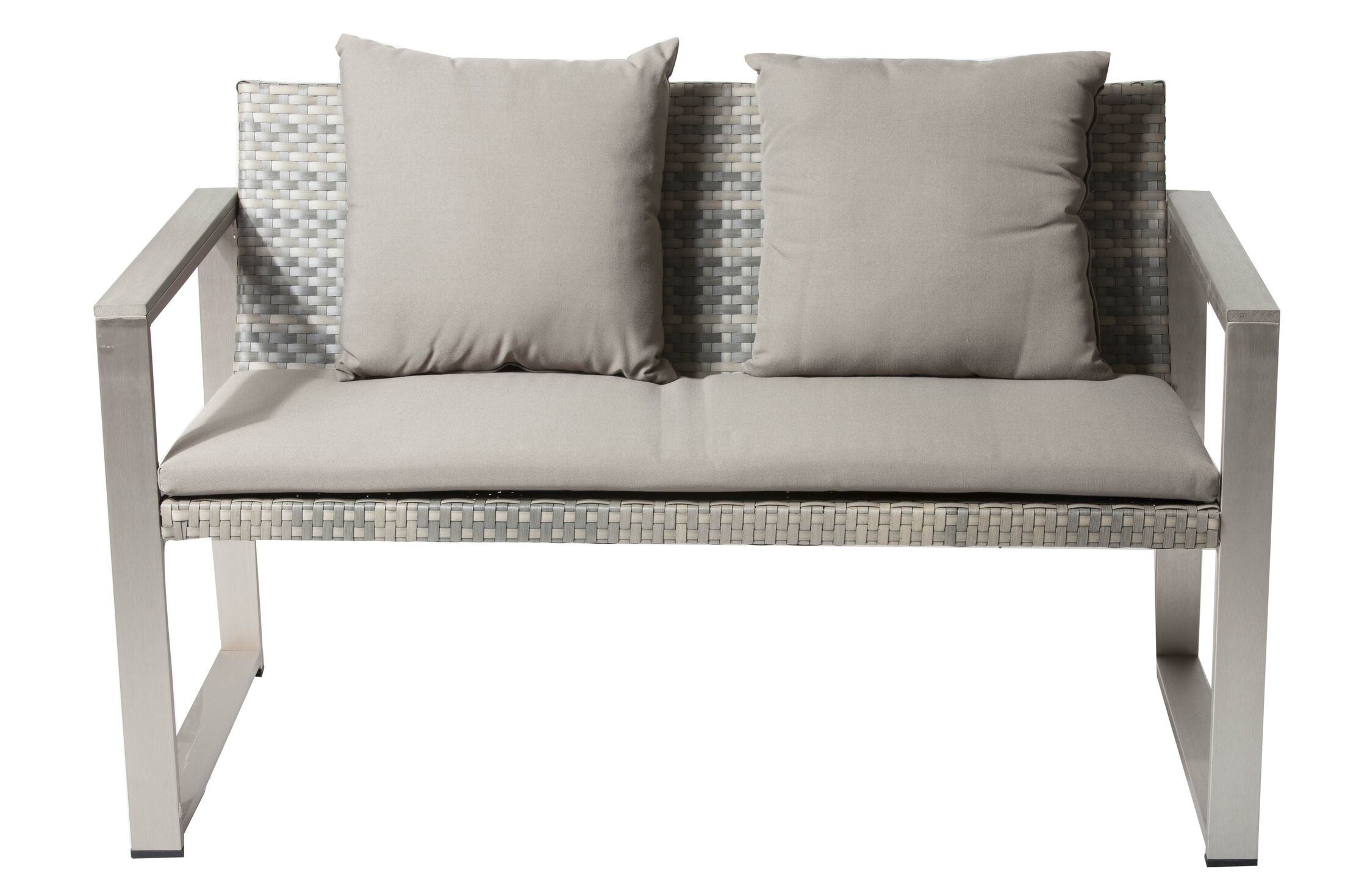 Tunney Sofa with Cushion Color: Gray