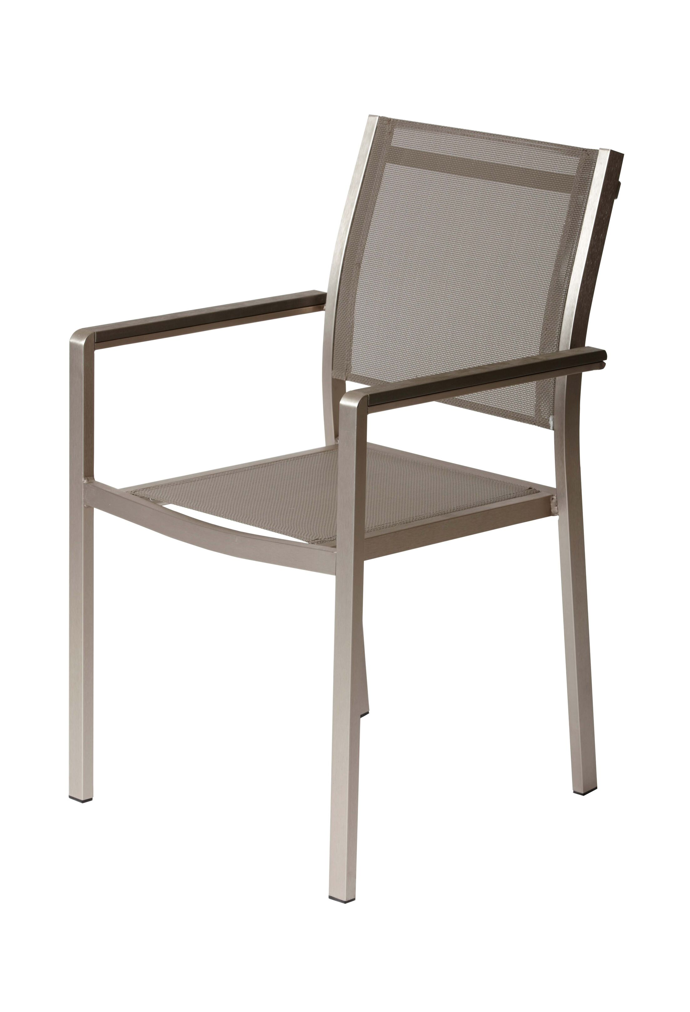 Alaia 7 Piece Dining Set Top Color: White, Leg Finish: Brushed Aluminum