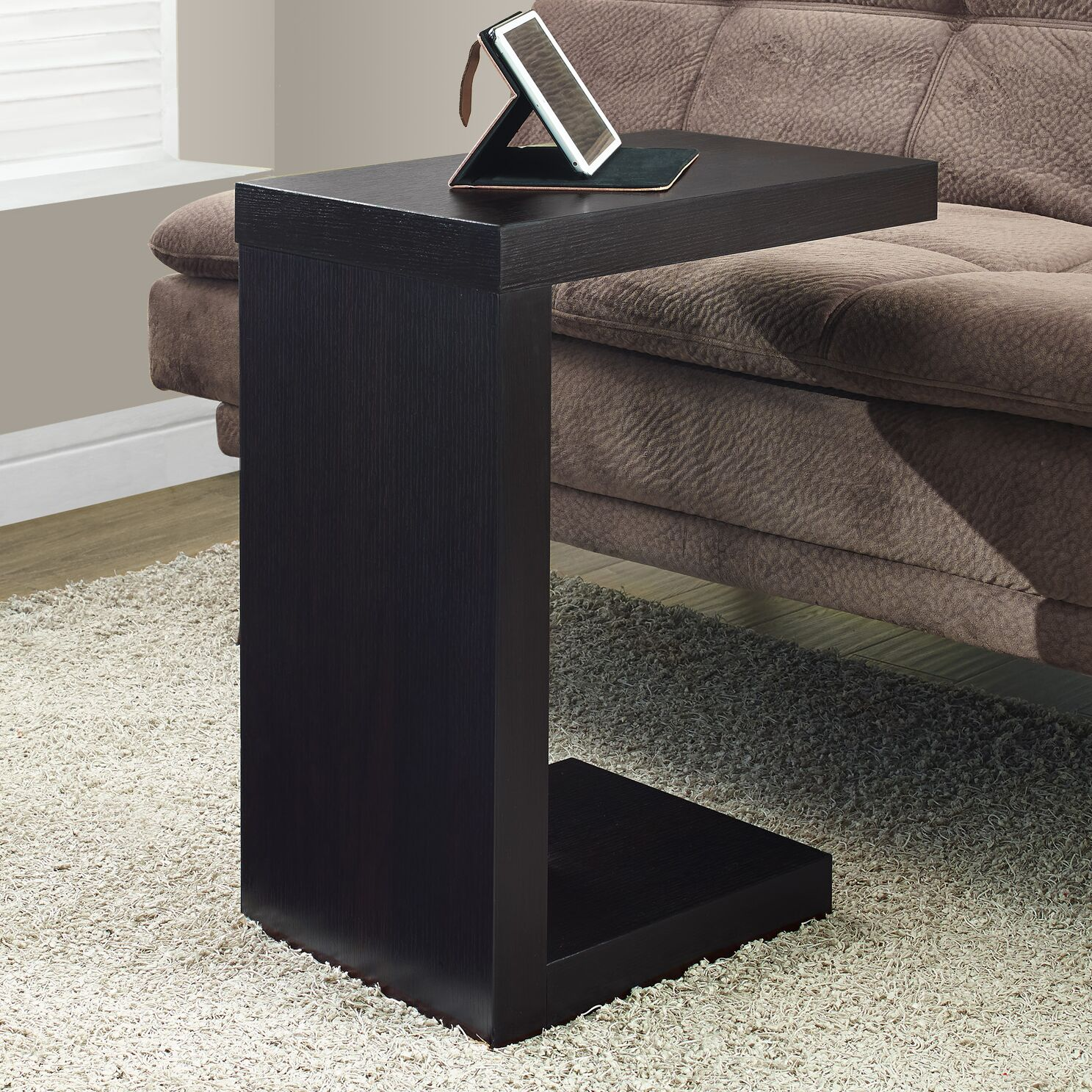 Jess End Table Color: Cappuccino