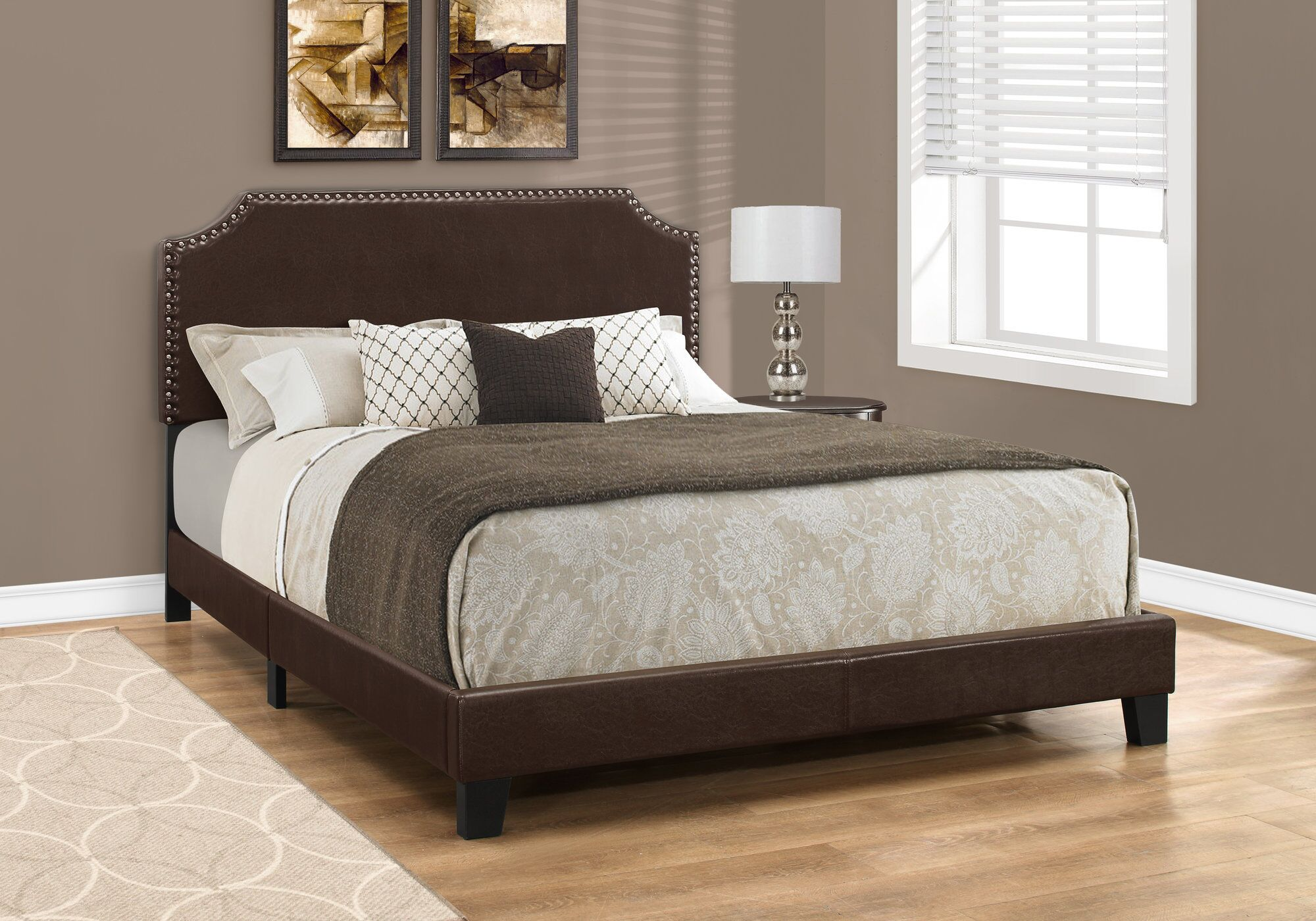 Dugas Queen Upholstered Panel Bed