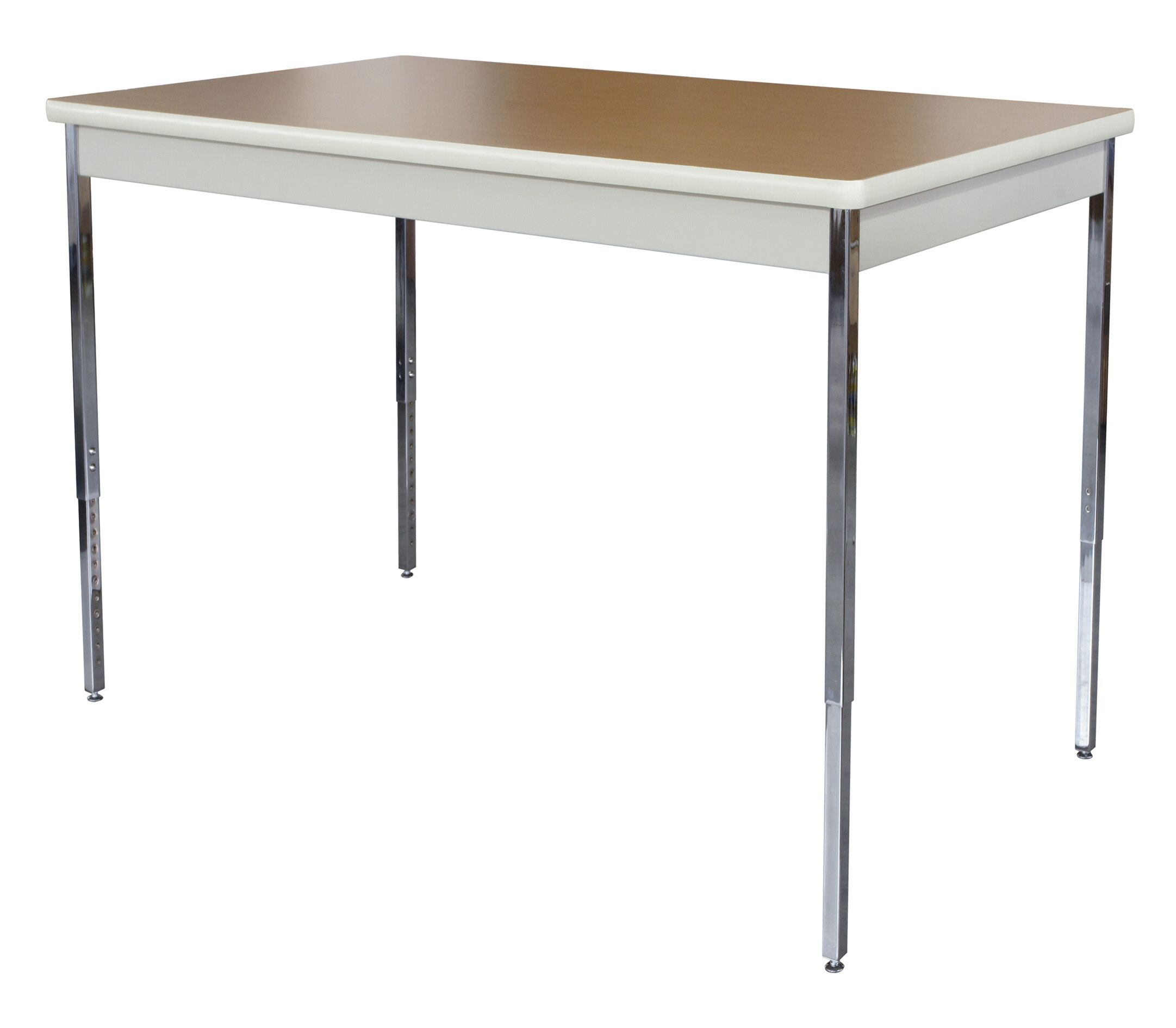 Activity Utility Training Table Tabletop Finish: Oak / Putty, Size: 29