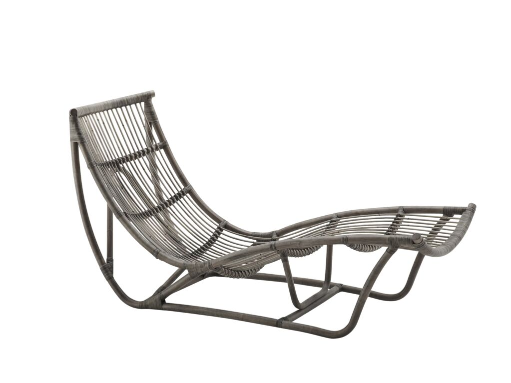Uhl Chaise Lounge Color: Taupe Grey