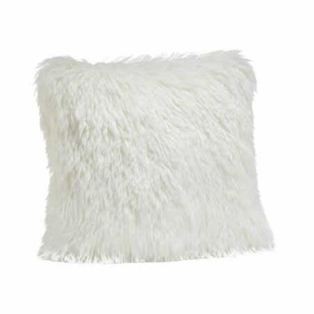 Limited Edition Llama Faux Fur Throw Pillow Size: 24