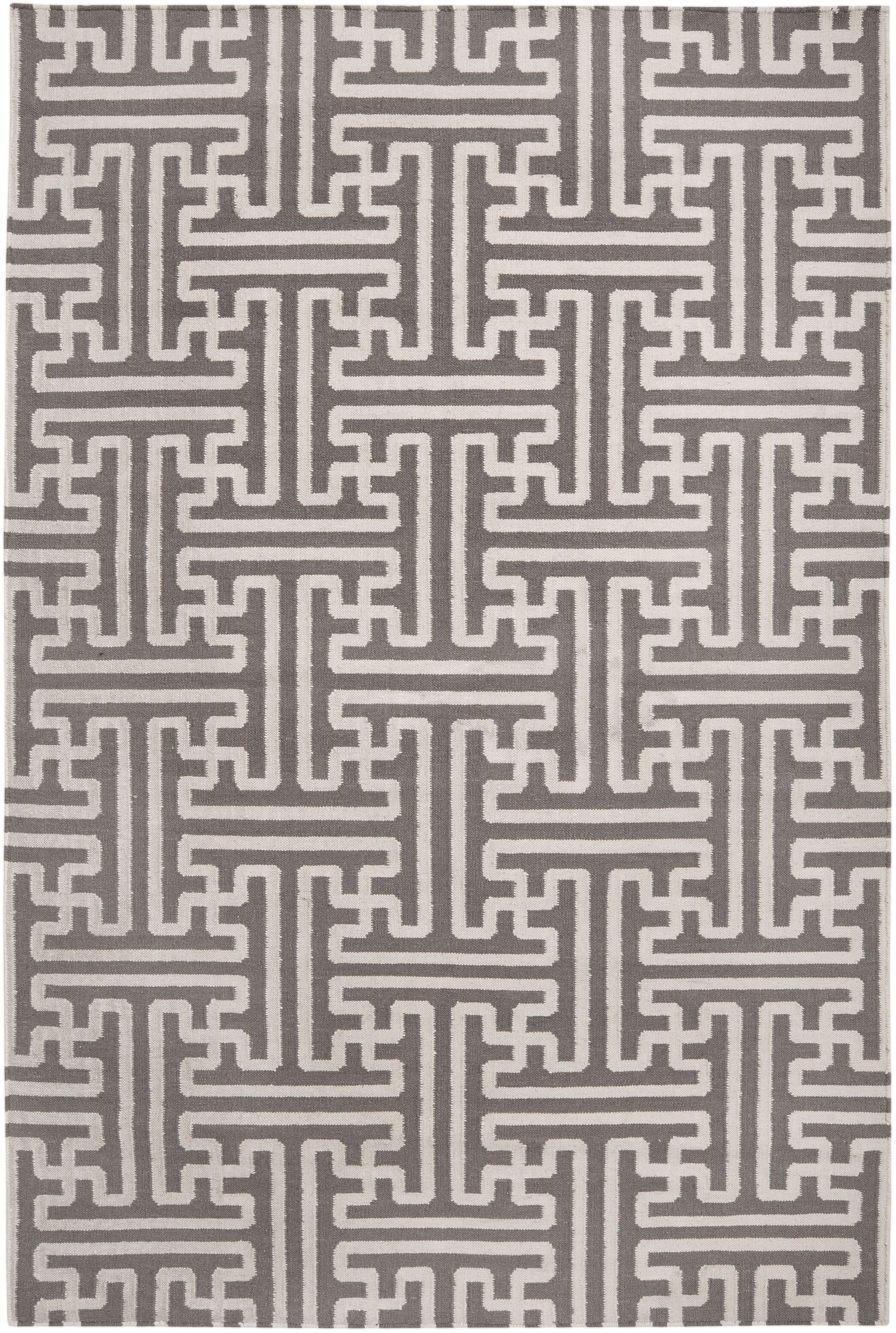 Archive Ivory/Taupe Geometric Area Rug