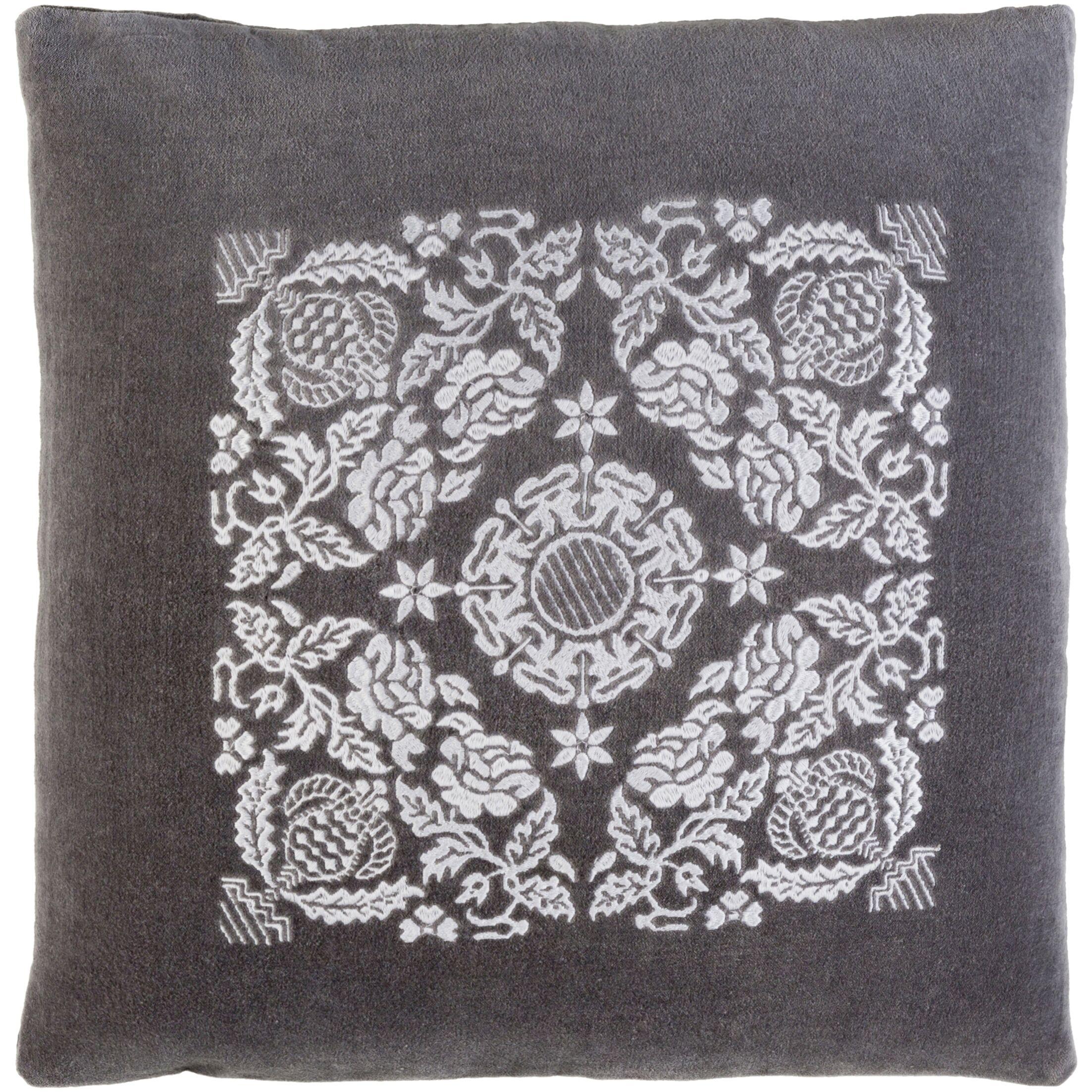 Cotton Throw Pillow Size: 20