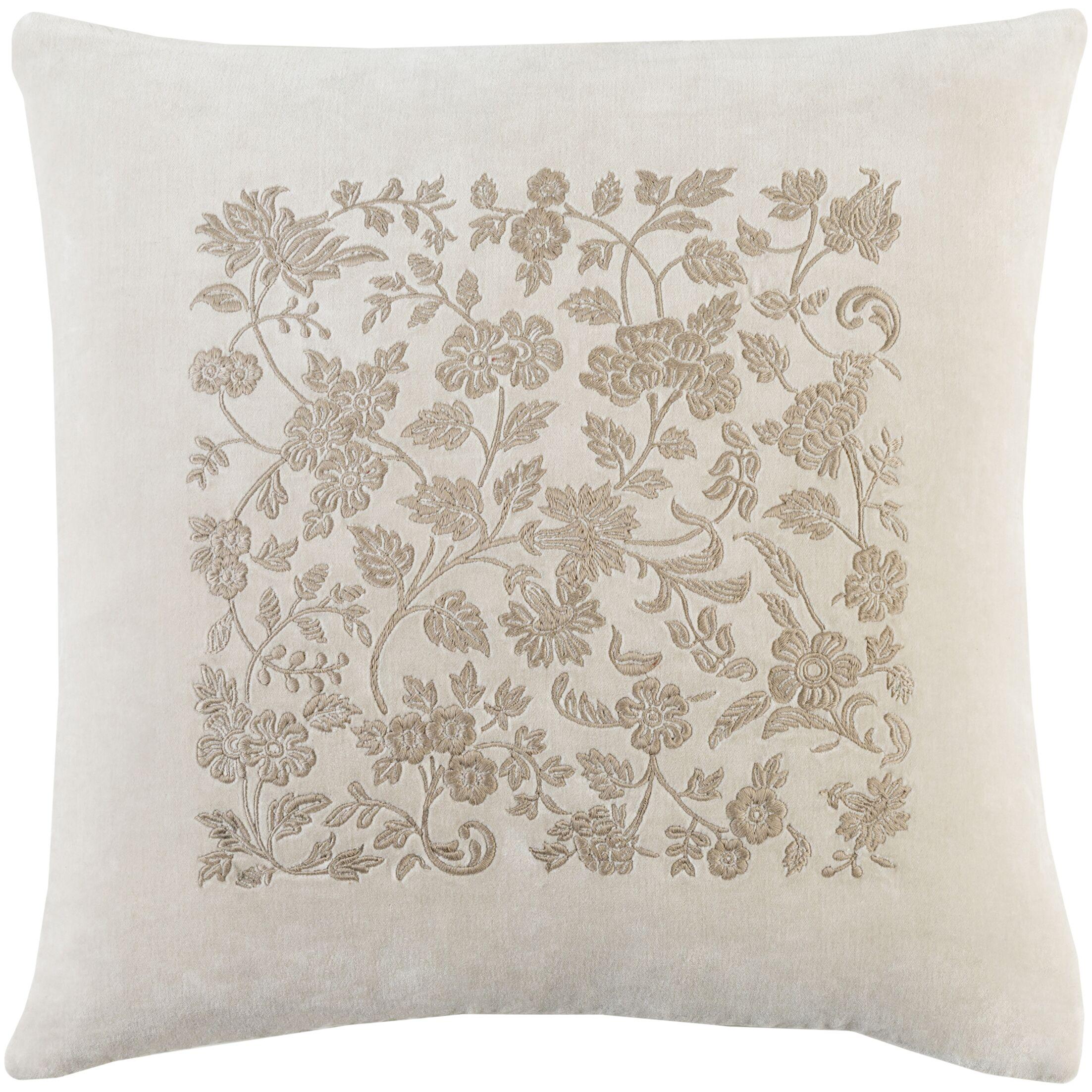 Cotton Throw Pillow II Size: 22