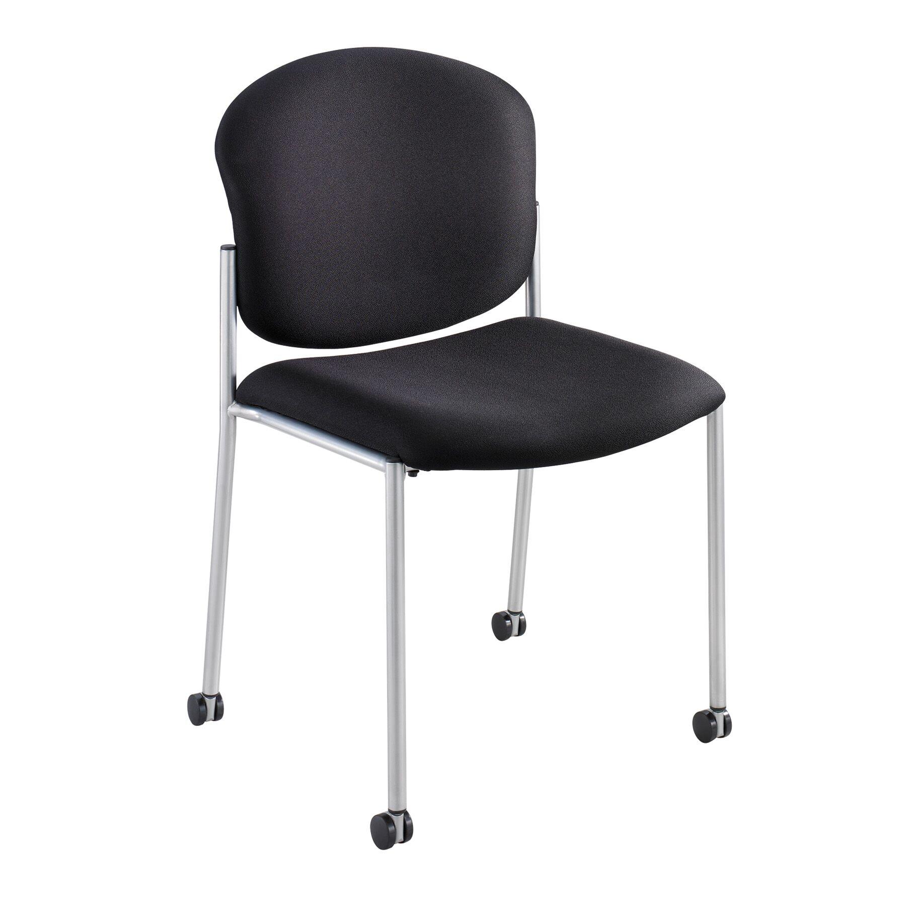 Diaz Guest Chair Seat Color: Black