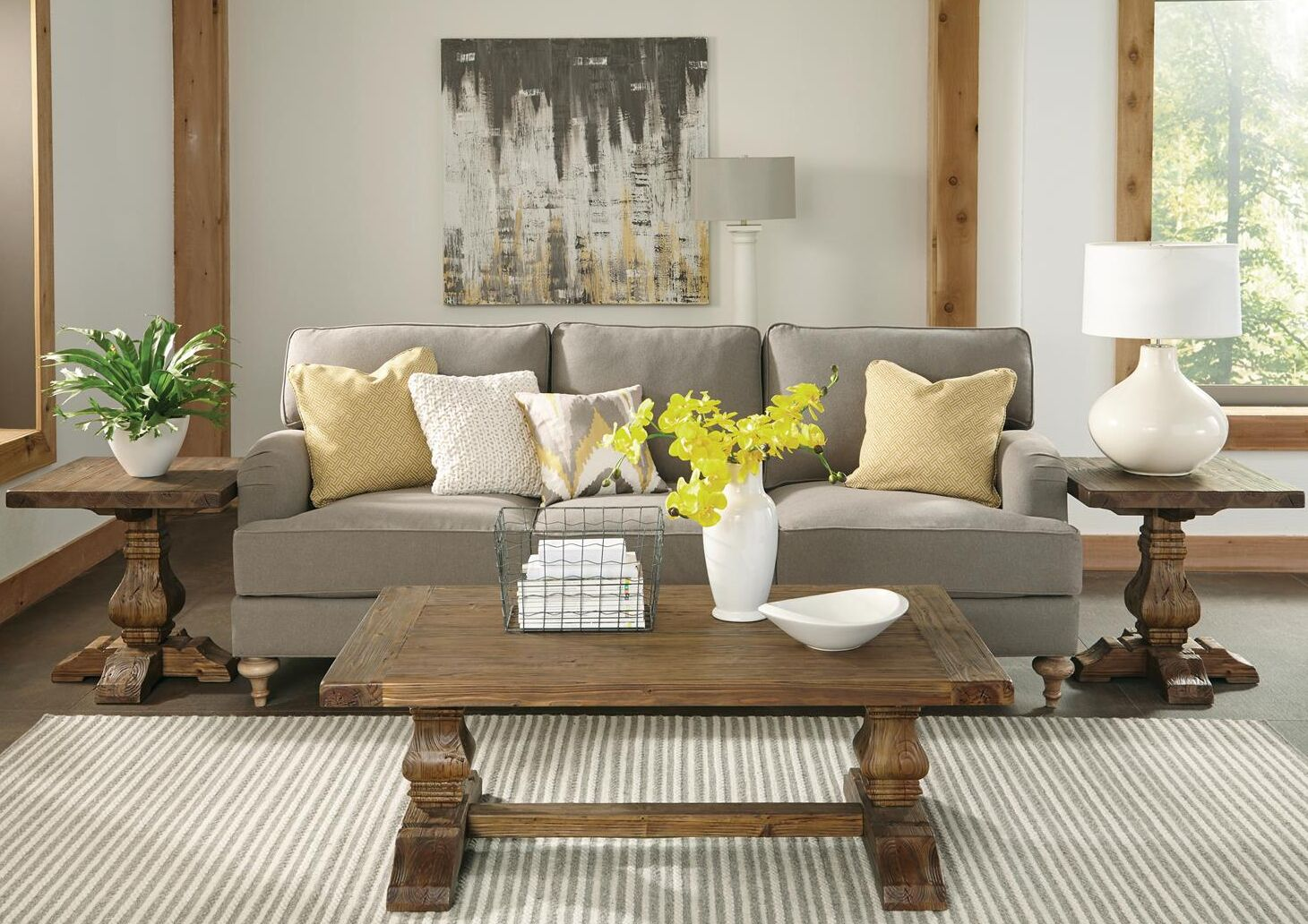 Woosley 3 Piece Coffee Table Set