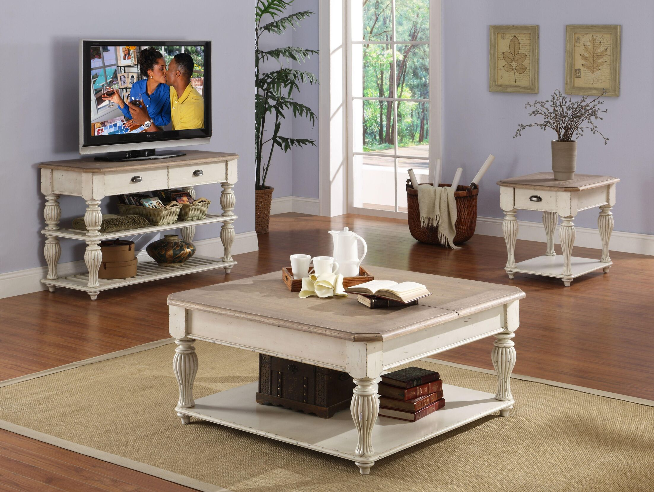 Quevillon Coffee Table Set