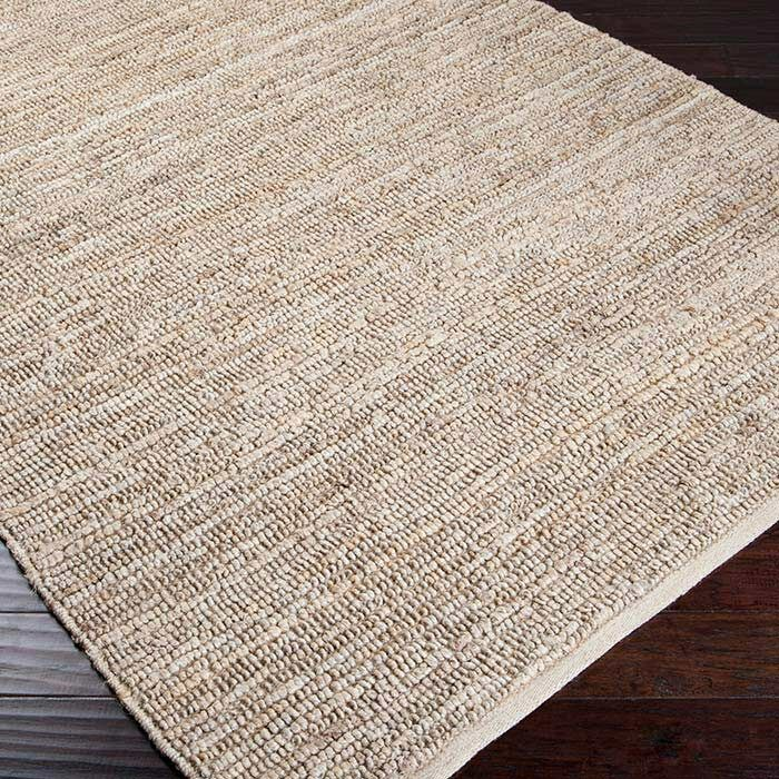 Hune Hand-Woven Antique White Area Rug Rug Size: Rectangle 3'6