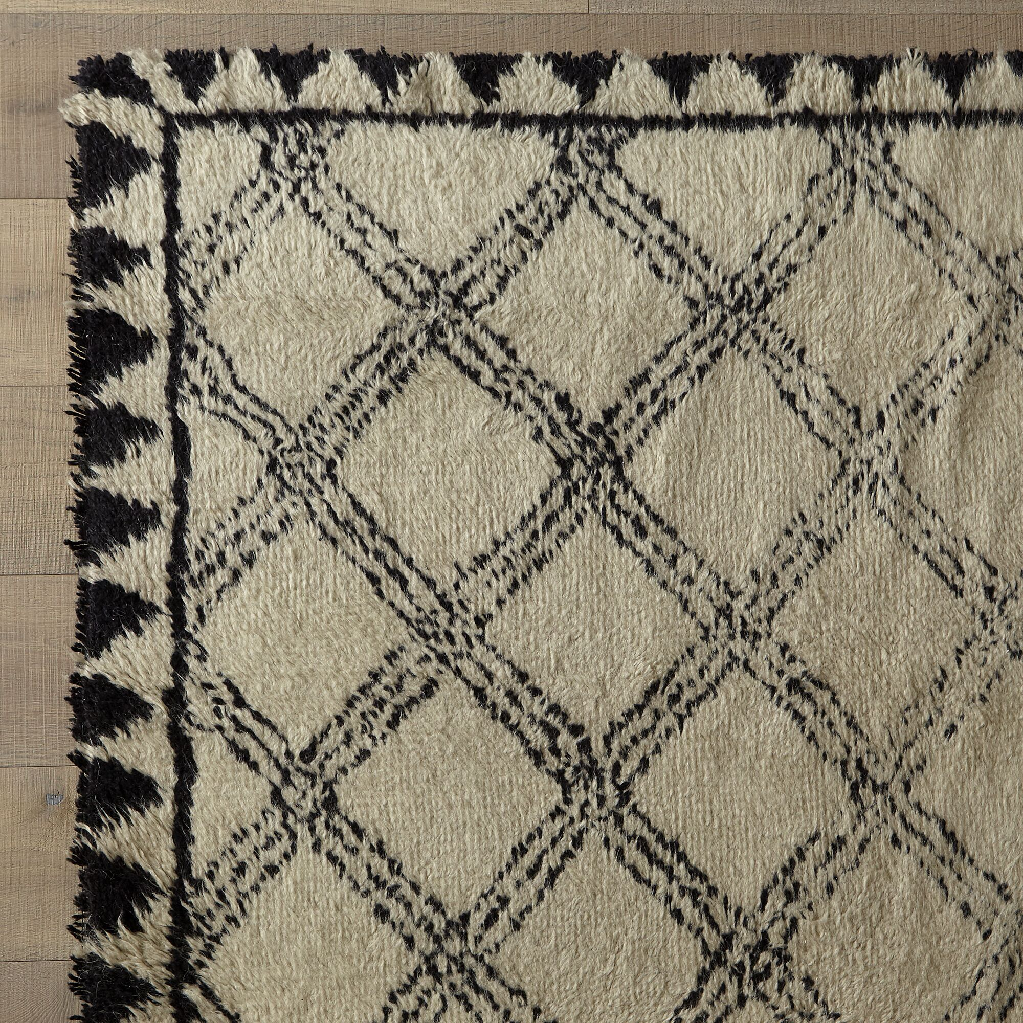 Hand-Woven Ivory Area Rug Rug Size: Runner 2'6