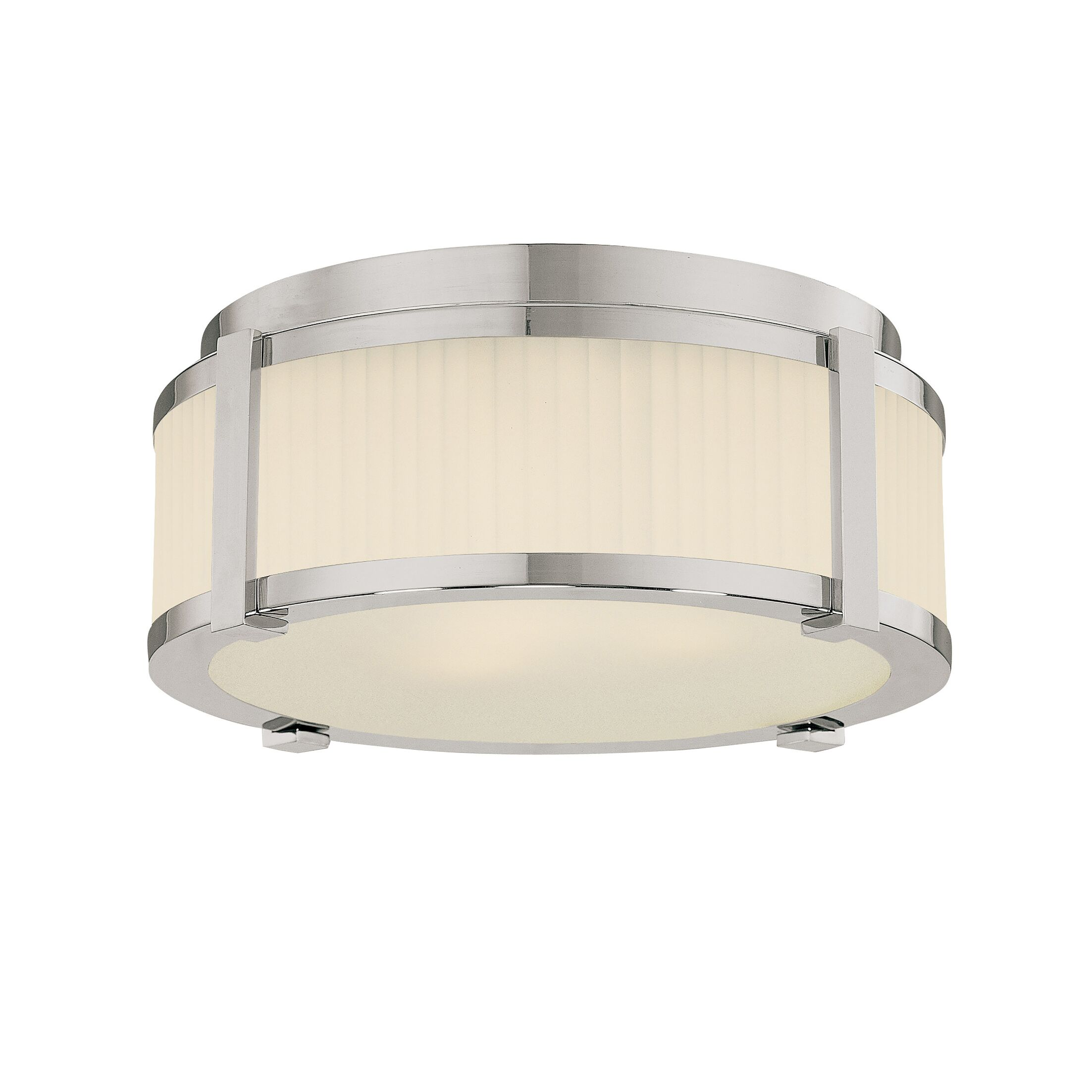Roxy Flush Mount Finish / Size: Polished Nickel / 5.5